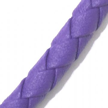 3mm synthetic soft leather cord for jewellery making - 100cm - Purple